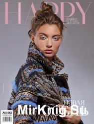 HAPPY Fashion Culture Magazine №102 (сентябрь 2016)