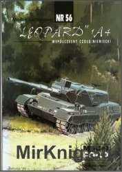 Танк Leopard 1A4 [Model Card 056]