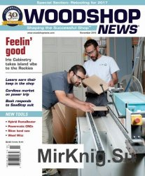 Woodshop News - November 2016