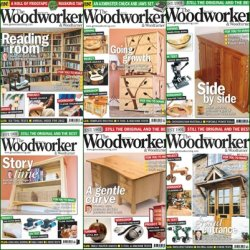 The Woodworker & Woodturner - 2012 Full Year Issues Collection