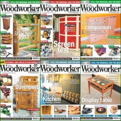 The Woodworker & Woodturner - 2013 Year Issues Collection