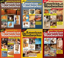 American Woodworker - 2012 Full Year Issues Collection