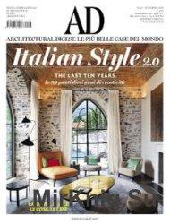 Architectural Digest Italia - Novembre 2016