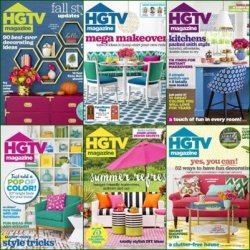 HGTV Magazine - 2016 Full Year Issues Collection