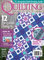 McCall's Quilting — January/February 2017