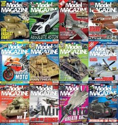 Tamiya Model Magazine International - 2016 Full Year Issues Collection