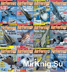 AirForces Monthly - 2016 Full Year Issues Collection