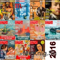 """Архив журнала """"Connaissance des Arts"""" за 2016 год"""