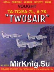 """Vought TA-7C/EA-7L, A-7K """"Twosair"""" (Naval Fighters №78)"""