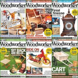 The Woodworker & Woodturner - 2016 Full Year Issues Collection