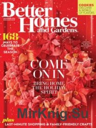 Better Homes and Gardens USA - December 2016