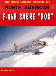 North American F-86H Sabre HOG (Air Force Legends 212)