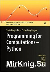 Programming for Computations - Python: A Gentle Introduction to Numerical S ...
