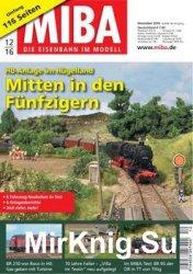 MIBA Die Eisenbahn im Modell 2016-12