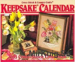 Keepsake Calendar.Cross Stitch Collection