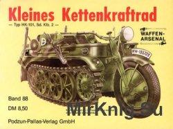 Kleines Kettenkraftrad: Typ HK-101, Sd. Kfz. 2 (Waffen-Arsenal 88)