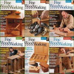 Fine Woodwoking - 2012 Full Year Issues Collection