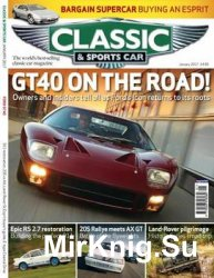 Classic & Sports Car - January 2017 (UK)