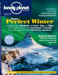 Lonely Planet Traveller UK — January 2017