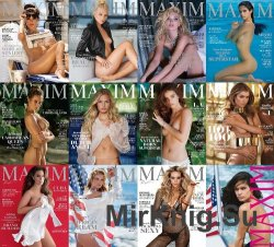 Maxim USA - Full Year Collection (2016)