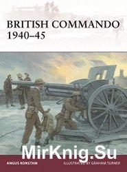 British Commando 1940-1945 (Osprey Warrior 188)