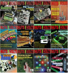 Nuts And Volts - 2013 Full Year Issues Collection