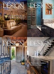 Contemporary Stone & Tile Design - 2015 Full Year Issues Collection