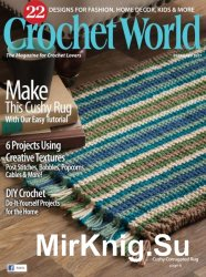 Crochet World — February 2017