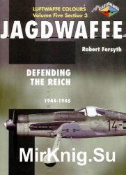 Jagdwaffe: Defending the Reich 1944-45 (Luftwaffe Colours - Volume Five Section 3)
