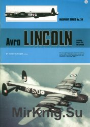 Avro Lincoln (Warpaint Series No.34)