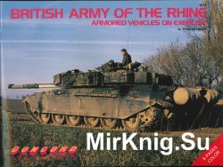 British Army of the Rhine: Armored Vehicles on Exercise (Concord 1012)