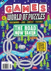 Games World of Puzzles — February 2017