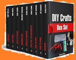 DIY Crafts Box Set: 80+ Beautiful Needlework Patterns and 50 Drawing Tips for Beginners