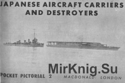 Japanese Aircraft Carriers and Destroyers