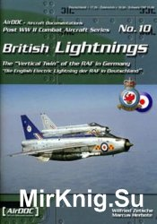 British Lightnings (Post WW2 Combat Aircraft Series 10)