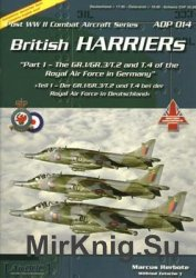 British Harriers (Part 1) (Post WWII Combat Aircraft Series 14)