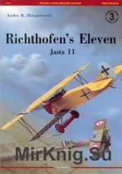 Richthofen's Eleven Jasta 11 (Kagero Legends of Aviation №3)