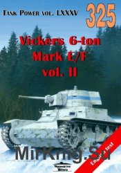 Wydawnictwo Militaria 325 - Vickers 6-ton Mark E/F vol.II