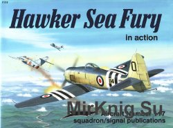 Hawker Sea Fury in Action (Squadron Signal 1117)
