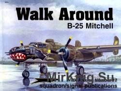 B-25 Mitchell (Walk Around 5512)