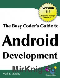 The Busy Coder's Guide to Android Development 8.4
