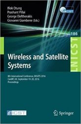 Wireless and Satellite Systems: 8th International Conference