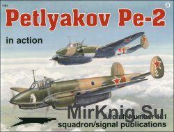 Petlyakov Pe-2 In Action (Squadron Signal 1181)