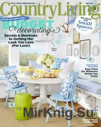 Country Living USA - May 2017