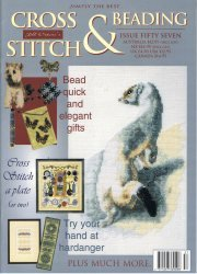 Jill Oxtons Cross Stitch and Bead Weaving №57 2004