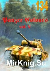 Panzer Colours Vol.V (Wydawnictwo Militaria 134)