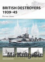 British Destroyers 1939-45 (1) (Osprey New Vanguard 246)