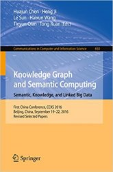 Knowledge Graph and Semantic Computing