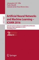 Artificial Neural Networks and Machine Learning – ICANN 2016, Part II