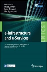 e-Infrastructure and e-Services, 7th International Conference